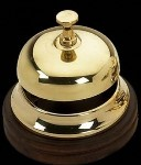 Image of a receptionist bell