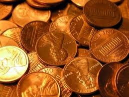 a bunch of coins, gold coins