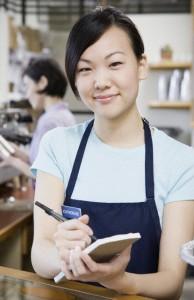 barista in work