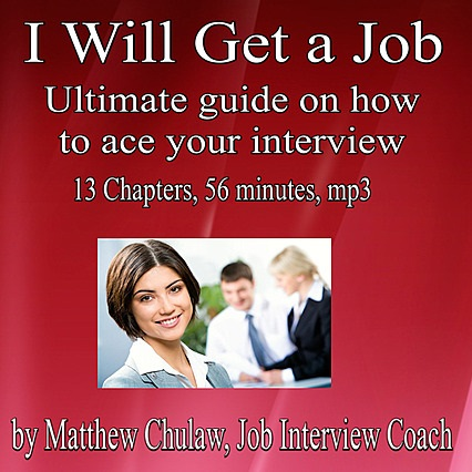 I Will Get a Job Cover
