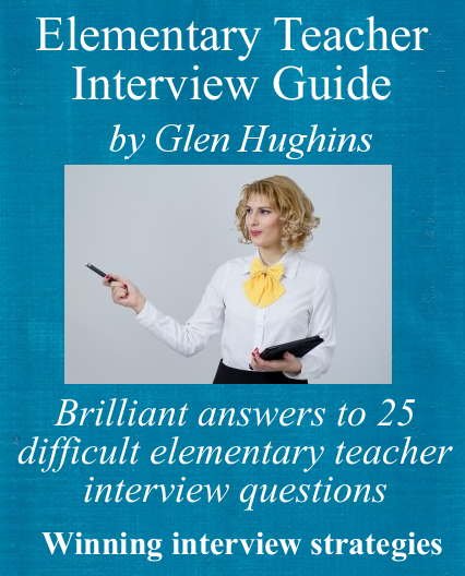 Cover of elementary teacher interview guide