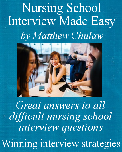Cover of nursing school interview made easy eBook