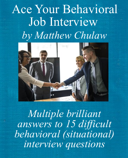Behavioral interview guide cover