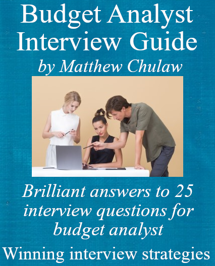 Budget Analyst Interview Guide Cover