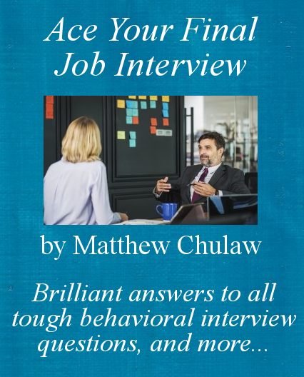 ace your final interview book cover 2019