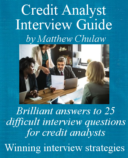 cover of credit analyst interview guide