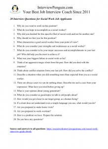25 TOP Social Worker Interview Questions & Answers for 2020