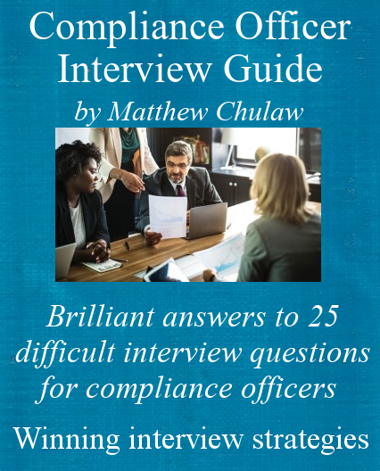 compliance officer interview guide ebook cover