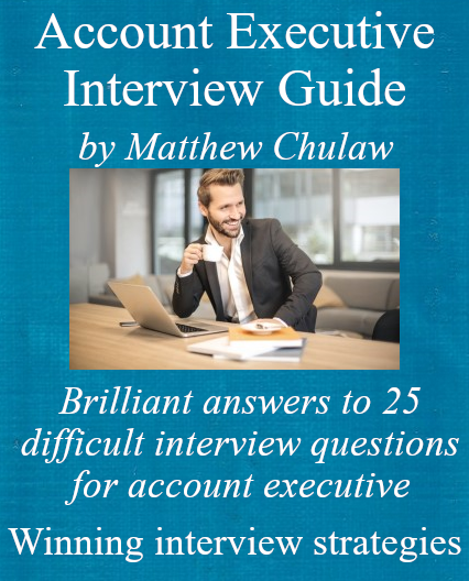 account executive interview guide cover
